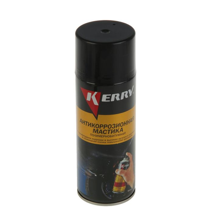 Мастика Kerry антикоррозионная битумная, 520 мл, аэрозоль