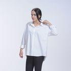 Рубашка женская классическая, цвет белый, р-р 52