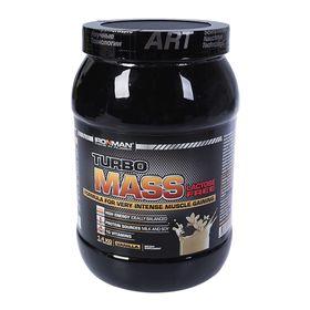 Гейнер IronMan Turbo Mass без лактозы, ваниль 1400 г