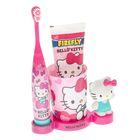 Набор Hello Kitty HK-20: электрическая зубная щетка + зубная паста + стакан