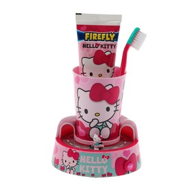 Набор Hello Kitty Timer Gift Set HK-13: зубная щетка + зубная паста+ стакан/таймер