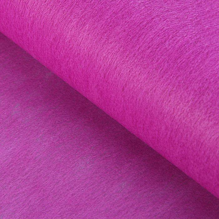 Фетр однотонный, пурпурный, 0,5 x 20 м - фото 1741251