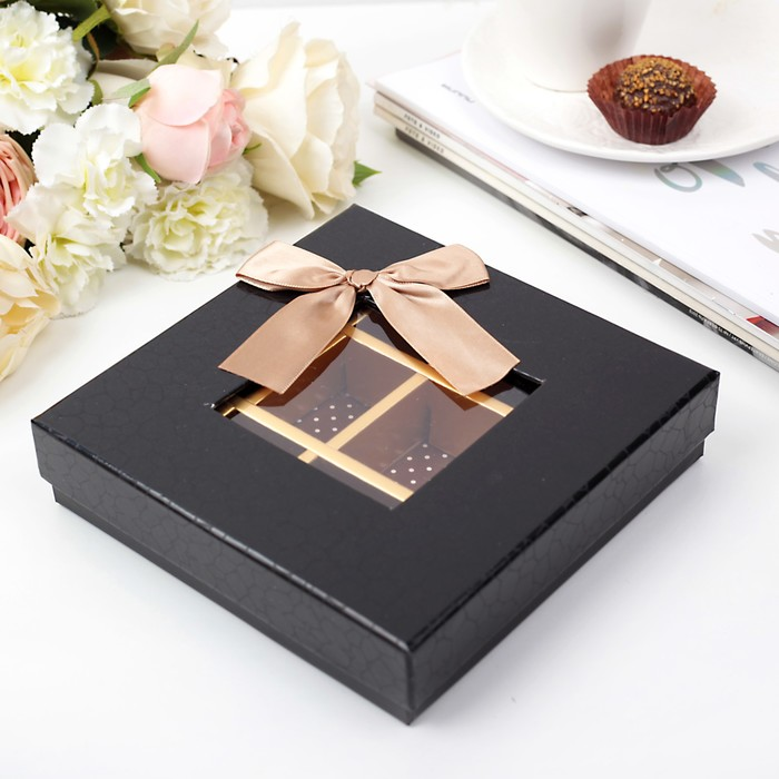 Коробка подарочная 17 х 17 х 3,5 см