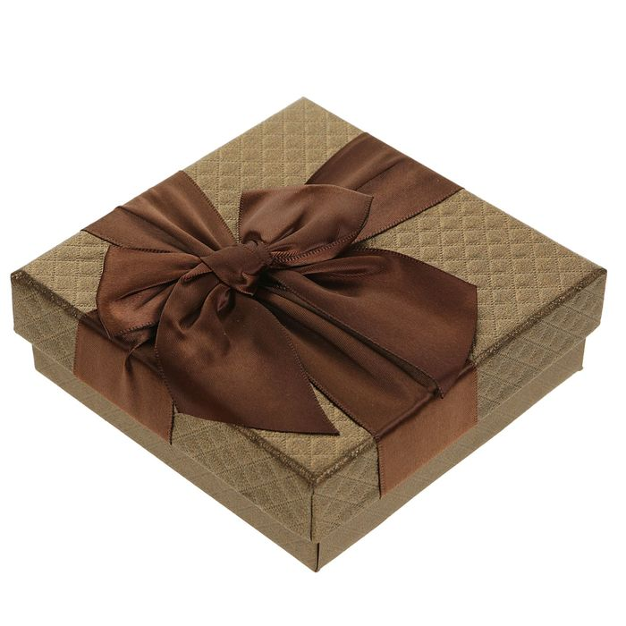 Коробка подарочная 12 х 12 х 4 см