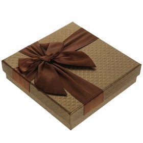 Коробка подарочная 15 х 15 х 4 см