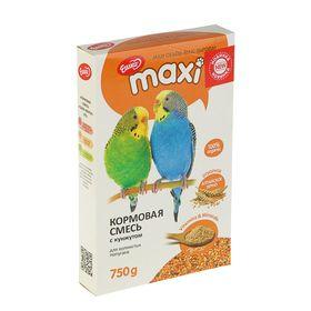 Корм «Ешка MAXI» для волнистых попугаев, с кунжутом, 750 г
