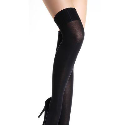 Ботфорты (чулки) женские PARI UP COTTON цвет чёрный (nero)