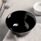 Салатник 12 см Carine Noir Uni, 300 мл