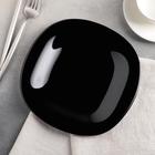 Тарелка десертная 19 см Carine Black