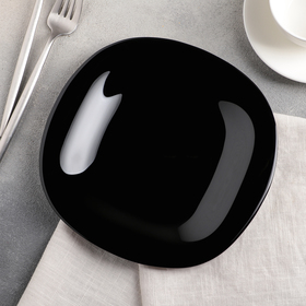 Dessert plate 19 cm Carine Black.