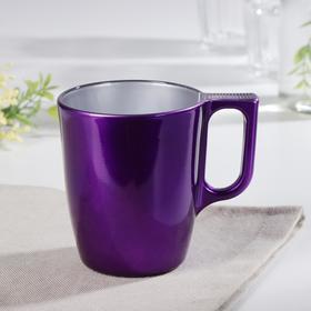 Кружка 250 мл Flashy Breakfast, цвет фиолетовый