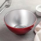 Салатник 500 мл Flashy Breakfast, цвет красный - фото 1741486