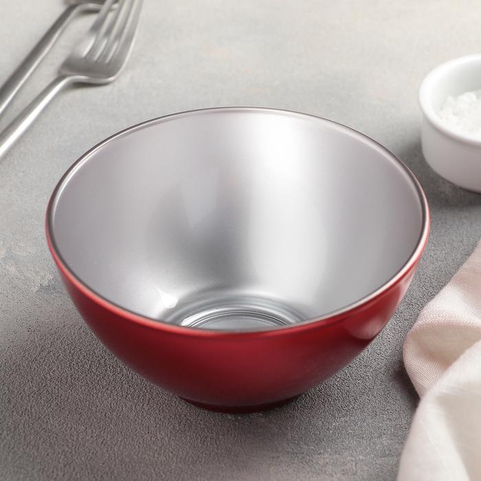 Салатник 500 мл Flashy Breakfast, цвет красный