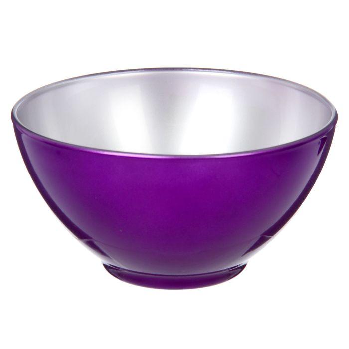 Салатник 500 мл Flashy Breakfast, цвет фиолетовый