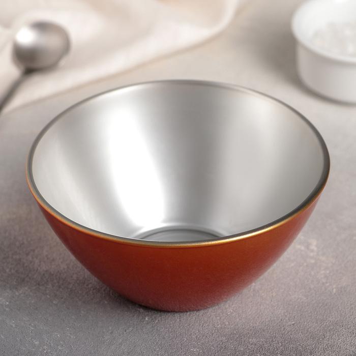 Салатник 12,5 см Flashy Colors Orange, 390 мл