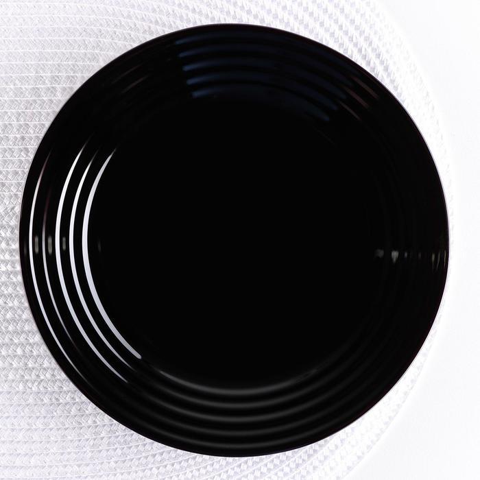 Тарелка десертная 19 см Harena Black - фото 308066813