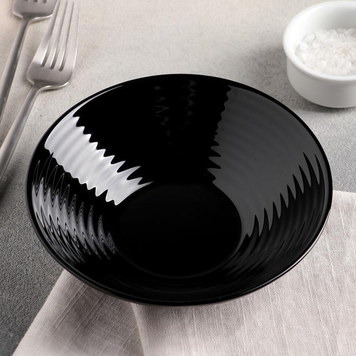 Салатник 16 см Harena Black, 450 мл