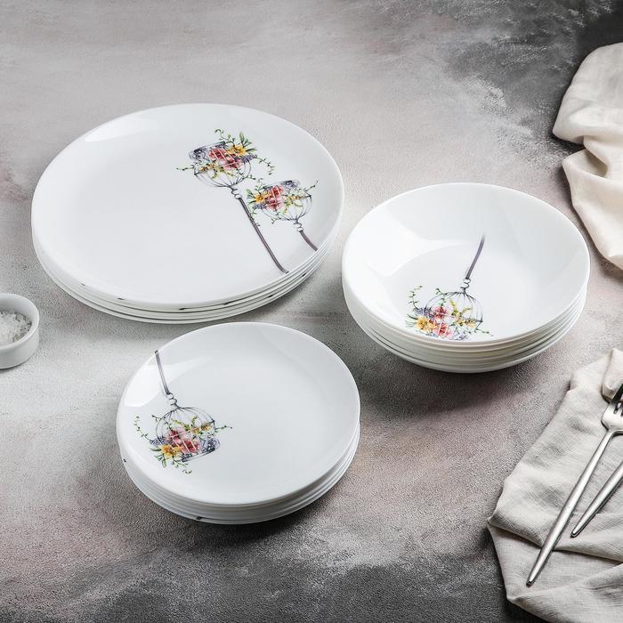Сервиз столовый Flore, 18 предметов