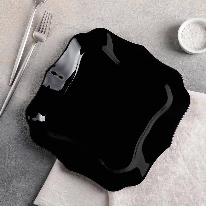 Тарелка обеденная 26 см Authentic Black