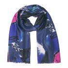 Палантин текстильный, размер 75х190, цвет синий PC2585_13-2