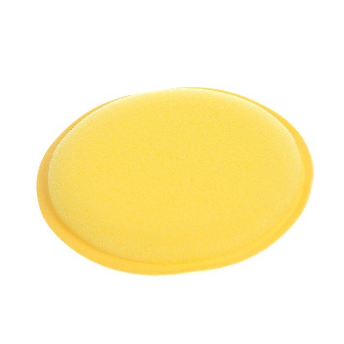 Губка поролоновая для нанесения полироли, d=10 см