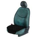 Накидка текстильная на автомобильное сиденье, 50 х 52 см, черная