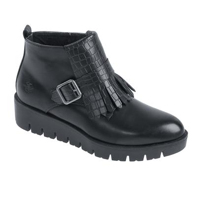 Ботинки женские арт. 6810A (черные) (р. 39)