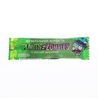 Жевательная Конфета Plants vs Zombies (Растения против Зомби) плоская с кислой начинкой 8г