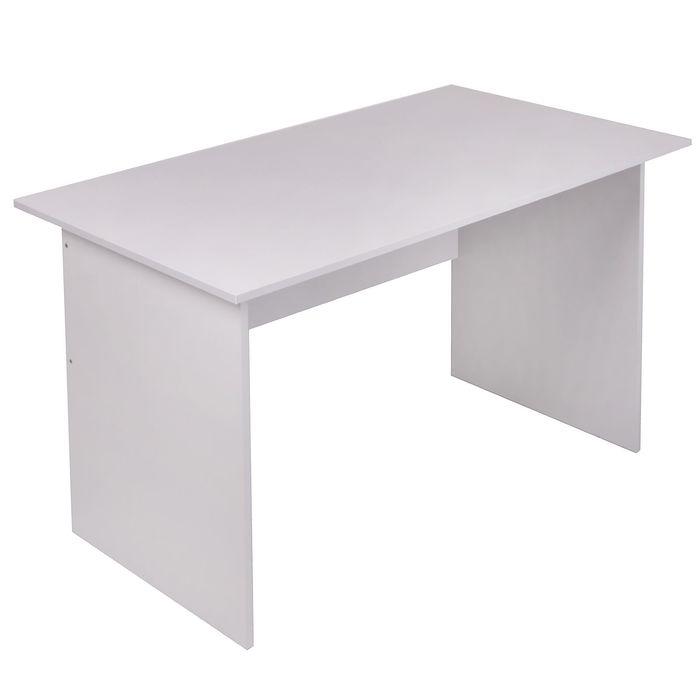 Стол письменный 1400х700х750  Светло серый