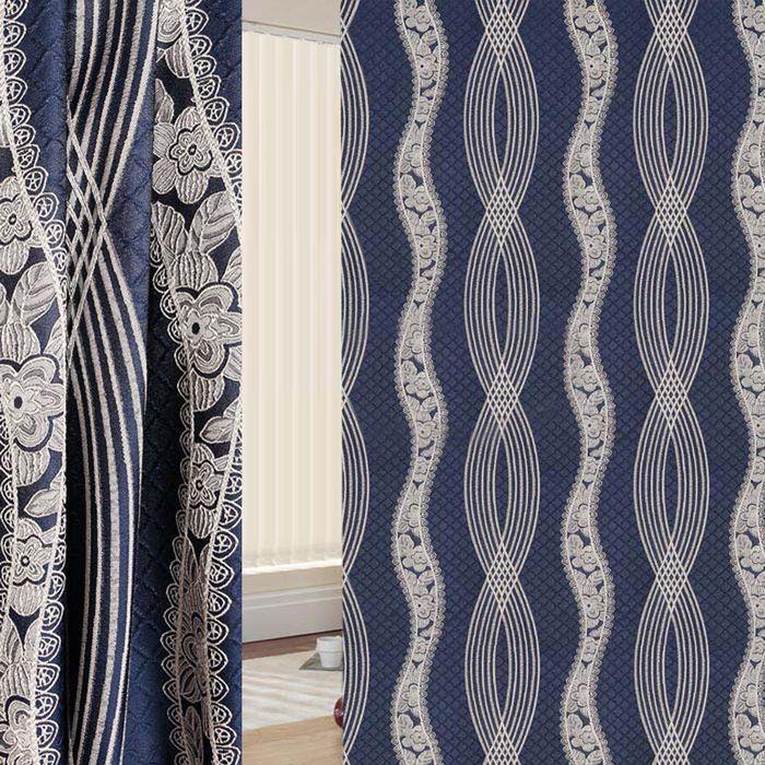 Ткань портьерная в рулоне, ширина 280 см, жаккард 86966