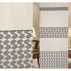 Ткань портьерная в рулоне, ширина 280 см, исполненеи флок, лен 83353