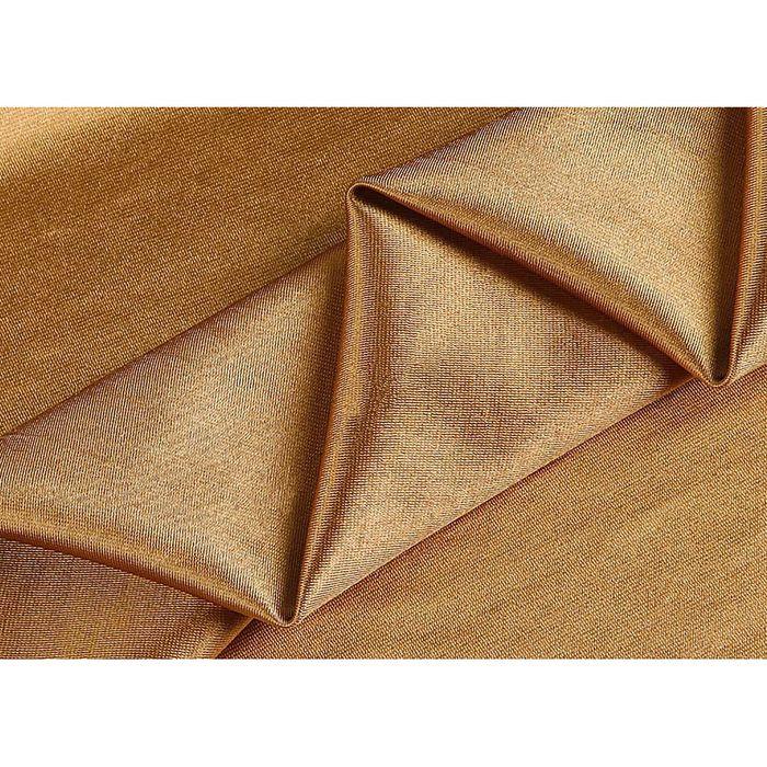 Ткань портьерная в рулоне, ширина 280 см, однотонная, жаккард 73584