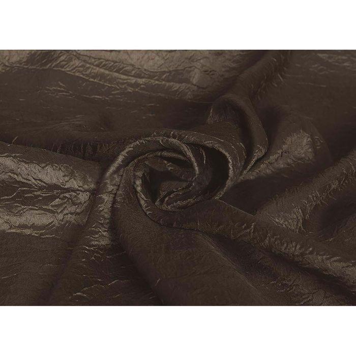 Ткань портьерная в рулоне, ширина 280 см, однотонная, тергалет 84985
