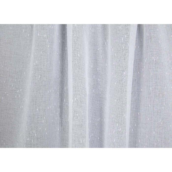 Ткань тюлевая в рулоне, ширина 280 см, исполнение фэнтези, лён 83970