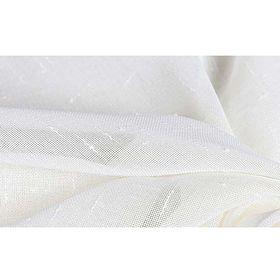 Ткань тюлевая в рулоне, ширина 280 см, однотонная, лён 78521 Ош