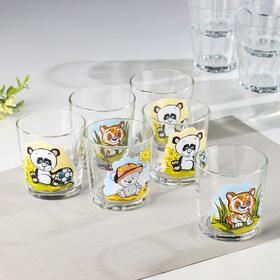 """Набор стаканов 250 мл """"Веселые зверюшки"""", 6 шт"""