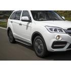 Пороги Premium Lifan X60 2012-2016-, нерж. сталь 160 см, 2 шт. A160ALP.3302.3