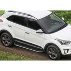 Пороги Premium Hyundai Creta 2016-, нерж. сталь 173 см, 2 шт. A173ALP.2310.1