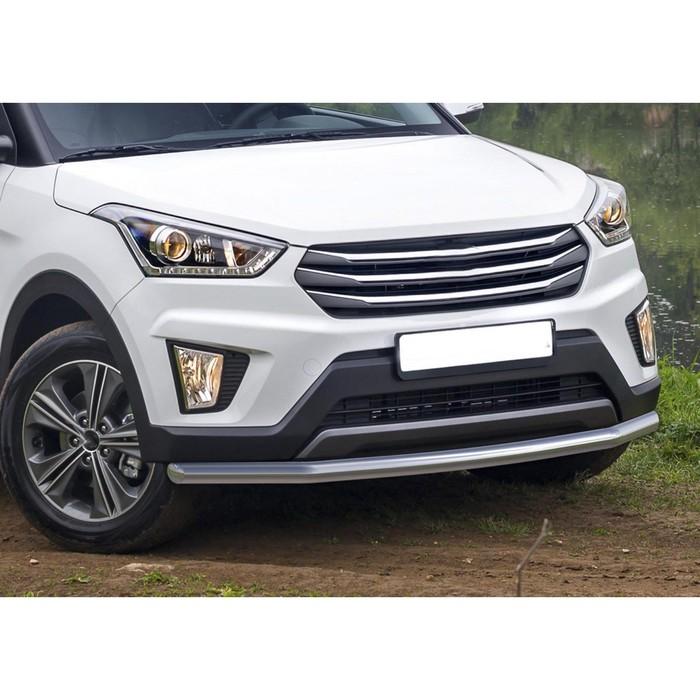 Защита переднего бампера Hyundai Creta, d57