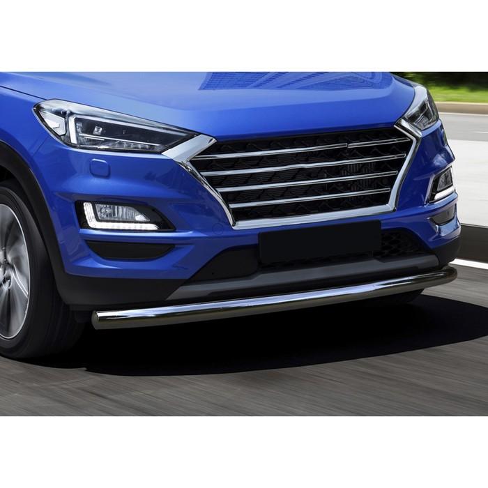 Защита переднего бампера Hyundai Tucson, d57