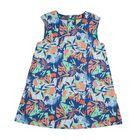 Платье для девочки, рост 110 см, цвет синий 131-019-19