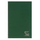 Ежедневник недатированный А5, 256 страниц, бумвенил, Calligrata, зелёный