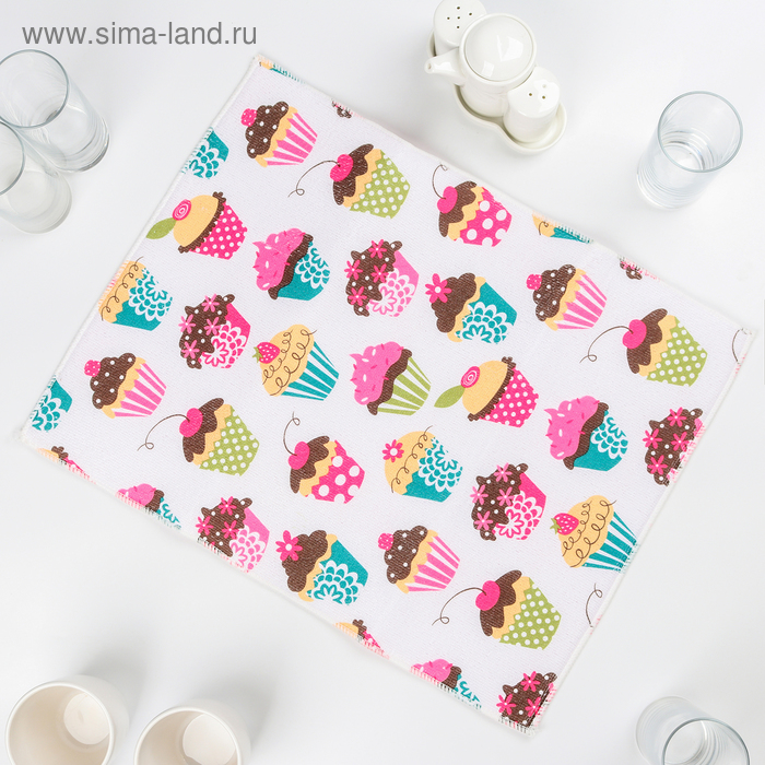 """Mat for drying dishes 38х51 see """"Cake"""""""