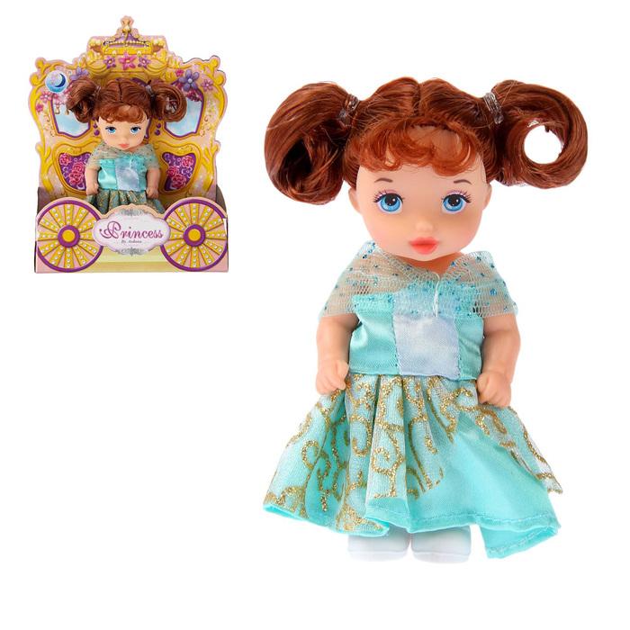 "Кукла малышка ""Лида"" в платье, МИКС"