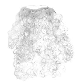 Карнавальная борода Деда Мороза, 50 см