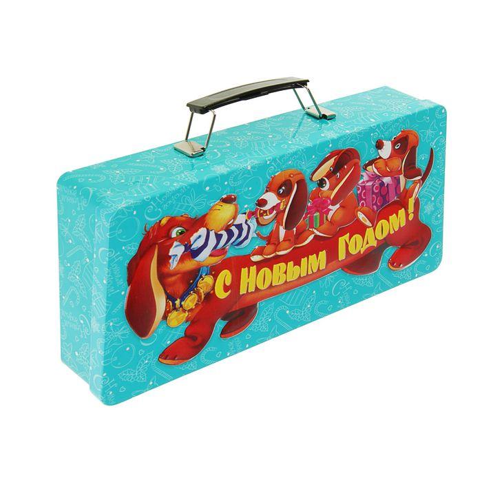 """Подарочная коробка """"Такса"""" 27 х 14 х 4,7 см"""