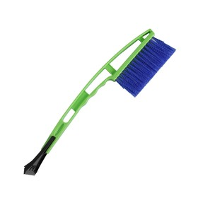 Sweeping brush with Oktan scraper, 42 cm, mix