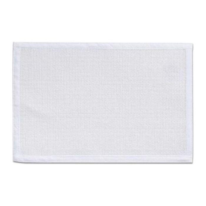 Подставка под горячее, рогожка белая, размер 45х30 см, пластик