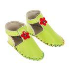 """Сандали для куклы """"Цветочек"""", длина стопы 7,5 см, 1 пара, цвет зеленый"""