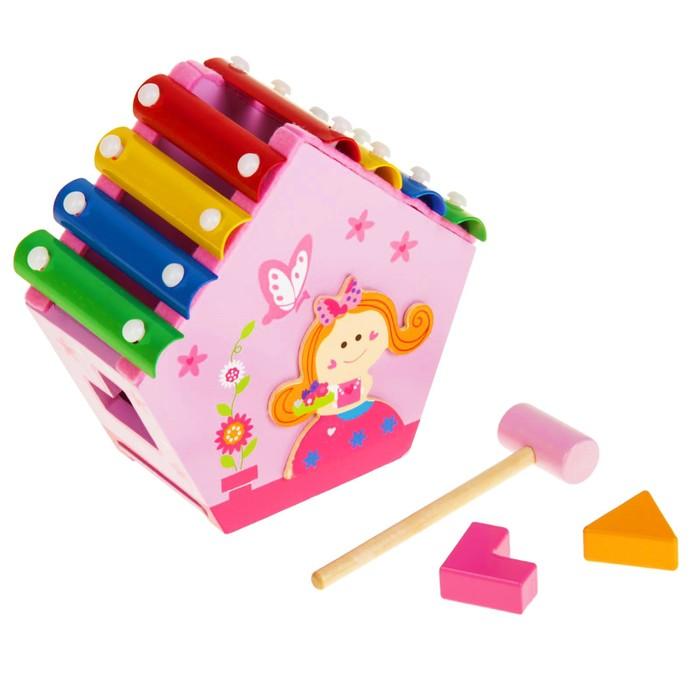 Металлофон с сортером «Маленькая принцесса»